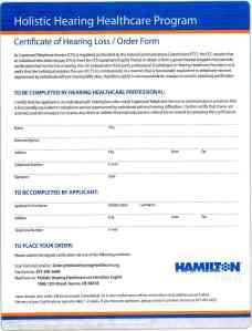 captel order form