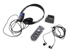 Duett w earphones headphones and charging stand US