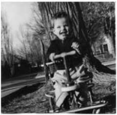 Author Jerry Northern, age 2 years circa 1942